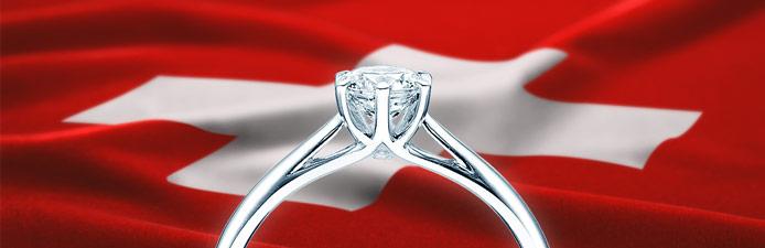 Verlobungsring Versand kostenlos in die Schweiz