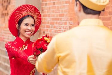 Hochzeit auf Vietnamesisch