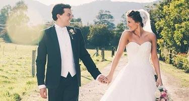 Hochzeit nach kolumbianischer Tradition