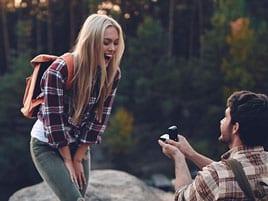 Die perfekten Orte für Verlobung und Antrag
