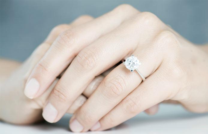 Durchschnittliche Größe des Rings richtig ausmessen