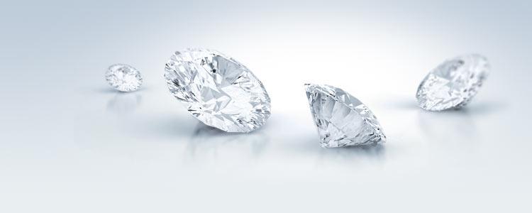 Top Wesselton Diamant im Vergleich zu Wesselton