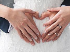 Verlobungsring zur Hochzeit tragen?
