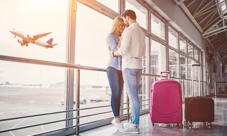 Verlobungsring im Handgepäck oder Koffer transportieren?