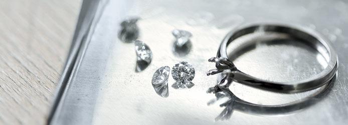 Wahre Liebe wächst, der Diamant wächst mit