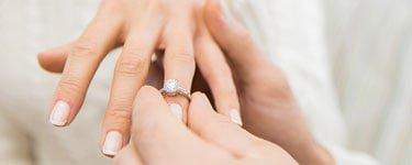 Verlobungsring welche Hand?