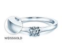 Verlobungsringe aus Weißgold