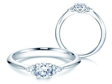 Verlobungsring Weiãÿgold | Verlobungsringe Weissgold Mit Diamant Ja Ich Will