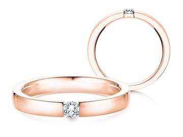Verlobungsring Infinity Roségold