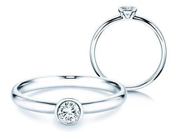 Verlobungsring Eternal Weißgold