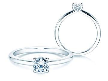 Verlobungsring Classic 4 Silber
