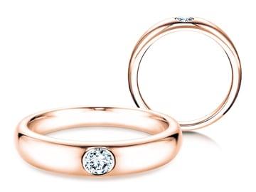 Verlobungsring Promise Roségold