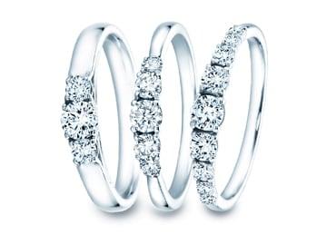 3+ Steine  – Ringe mit 3 Edelsteinen und mehr