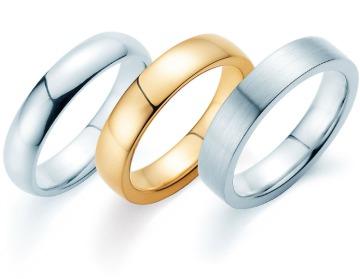 Ringe ohne Stein für Männer