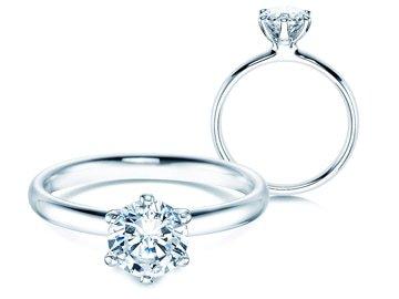 Einkaräter  – Diamantringe 1,00 ct.