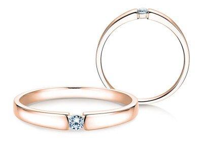 Verlobungsring Infinity Petite Roségold