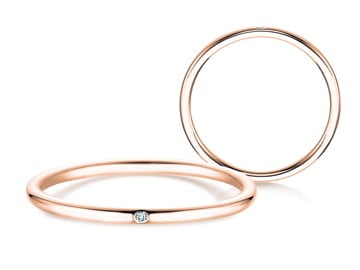 Verlobungsring Promise Petite Roségold