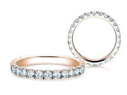 Verlobungsring Dusk in 14K Roségold mit Diamanten 1,3ct