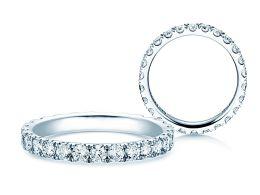Verlobungsring Dusk in 14K Weißgold mit Diamanten 1,3ct
