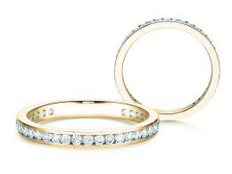 Endless Love in 18K Gelbgold mit Diamant 0,50ct