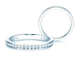 Endless Love in 14K Weissgold mit Diamant 0,50ct