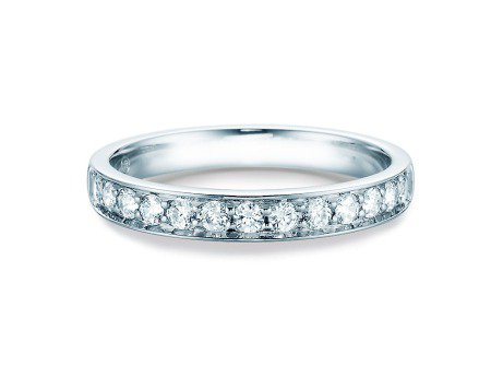 Alliance-/Eternity-Ring<br />Platin<br />Diamant 0,39ct