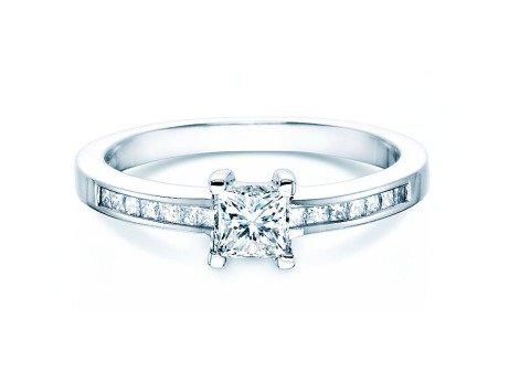 Diamantring Chloe<br />18K Weissgold<br />Diamanten 0,84ct