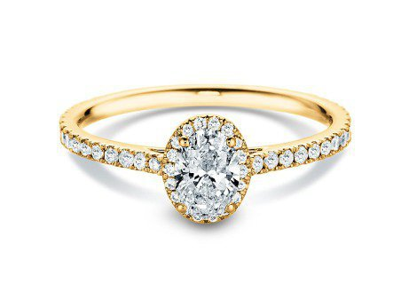 Diamantring Pure Emotion<br />18K Gelbgold<br />Diamant 0,93ct