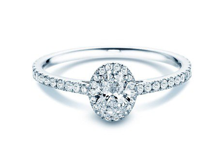 Diamantring Pure Emotion<br />18K Weissgold<br />Diamant 0,93ct