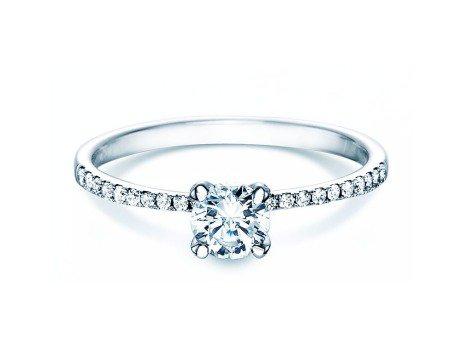 Verlobungsring Grace<br />18K Weissgold<br />Diamant 0,70ct