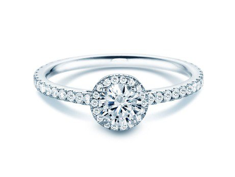 Diamantring Pure Infinity in 18K Weissgold mit Diamant 0,95ct