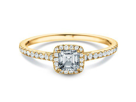 Diamantring Pure Life<br />18K Gelbgold<br />Diamant 0,97ct