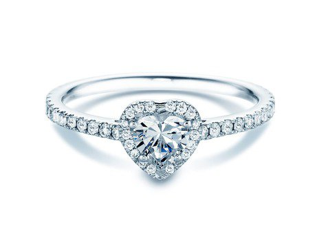 Diamantring Pure Love<br />18K Weissgold<br />Diamant 0,93ct