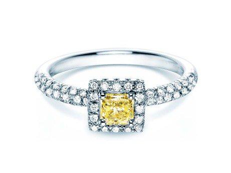 Verlobungsring Sophie<br />18K Weissgold<br />Diamant 1,02ct