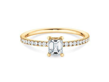 Verlobungsring Elaine<br />14K Gelbgold<br />Diamant 0,86ct