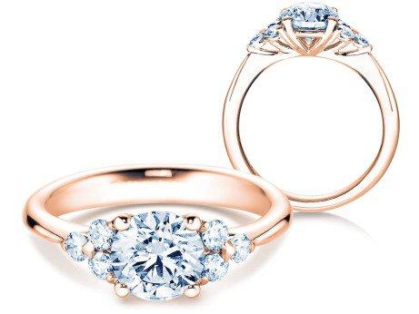 Verlobungsring Glory<br />18K Roségold<br />Diamanten 1,80ct