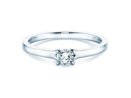 Verlobungsring Modern<br />Silber<br />Diamant 0,25ct