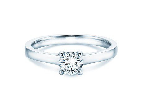 Verlobungsring Modern<br />Platin<br />Diamant 0,40ct
