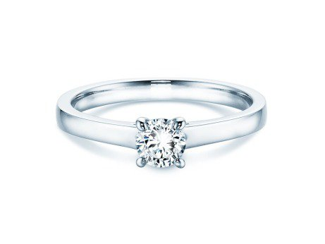 Verlobungsring Modern<br />Platin<br />Diamant 0,30ct