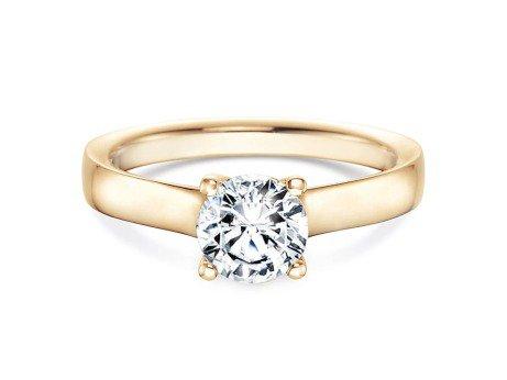 Verlobungsring Modern<br />18K Gelbgold<br />Diamant 1,00ct
