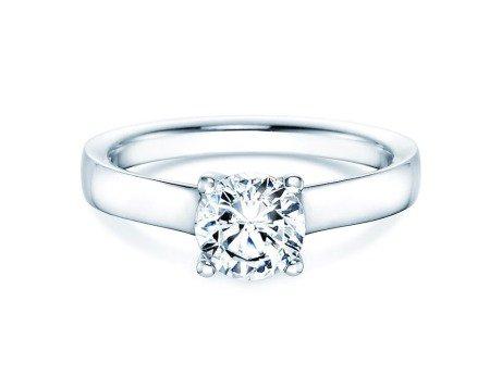 Verlobungsring Modern<br />18K Weißgold<br />Diamant 1,00ct