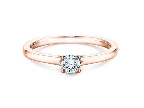 Verlobungsring Romance<br />14K Roségold<br />Diamant 0,25ct