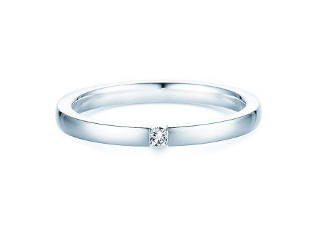 Verlobungsring Infinity<br />Silber<br />Diamant 0,03ct