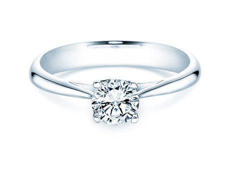 Solitärring Delight<br />14K Weißgold<br />Diamant 0,75ct