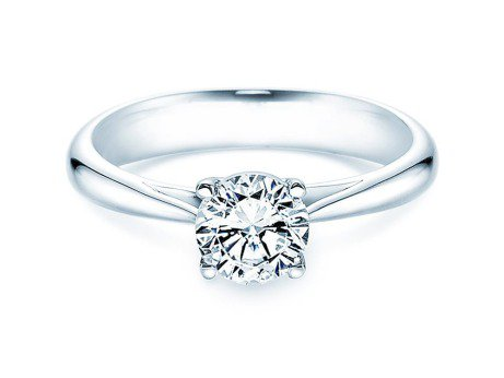 Solitärring Delight in Platin mit Diamant 1,00ct