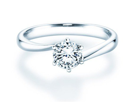 Verlobungsring Devotion<br />Silber<br />Diamant 0,75ct