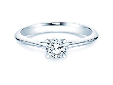Solitärring Heaven 4<br />Platin<br />Diamant 0,50ct