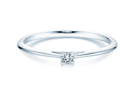 Solitärring Heaven 4<br />Platin<br />Diamant 0,05ct