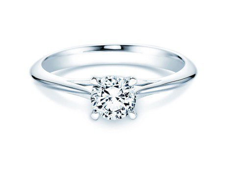 Solitärring Heaven 4<br />Platin<br />Diamant 0,75ct