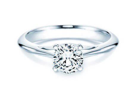 Solitärring Heaven 4<br />Platin<br />Diamant 1,00ct